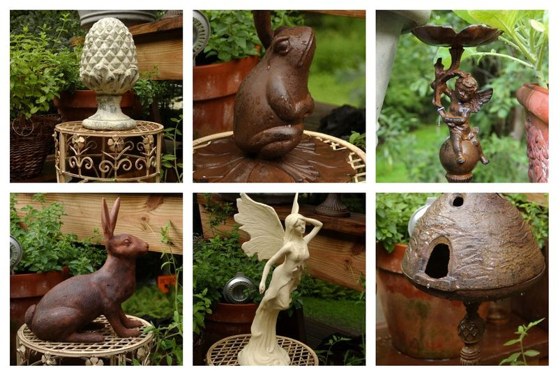 New selection of outdoor home and garden decor has arrived ...