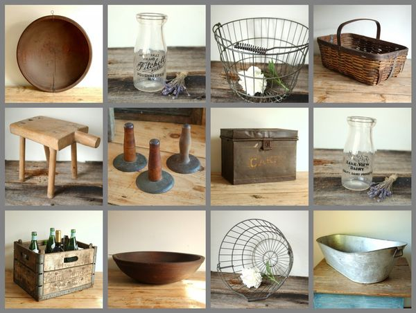 Farmhouse Antique Home Decor Collection Wiltsie Bridge Country Store