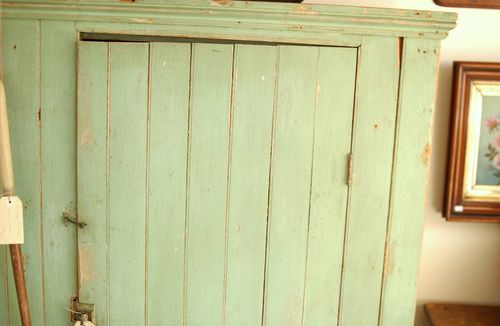 You Might Also Like: Antique 19th C. Primitive Painted Jelly Cupboard ...