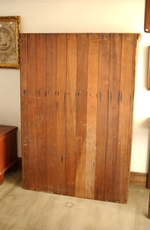 Antique 19th c. Primitive Painted Jelly Cupboard, Old Blue ...